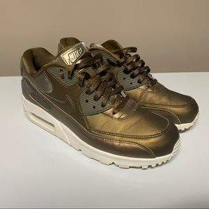 RARE Nike Air Max Metallic Field Bronze Sneakers